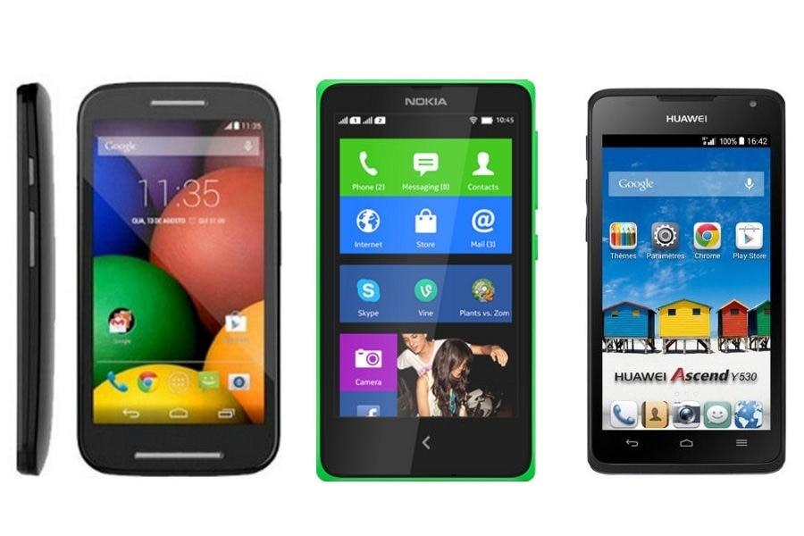 Smartphone entrée de gamme