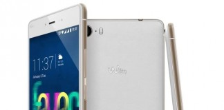 Wiko Fever Blanc et Or