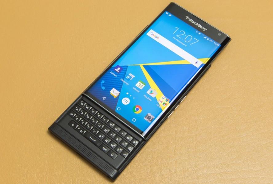 blackberry priv déployé