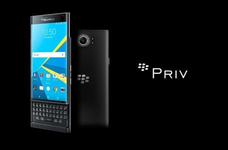 Test du Blackberry Priv , le premier smartphone Android du constructeur