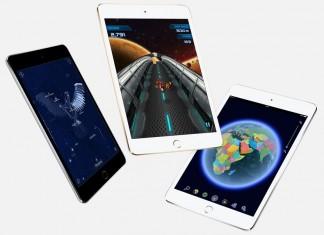 iPad mini 4 déclinaison de couleurs