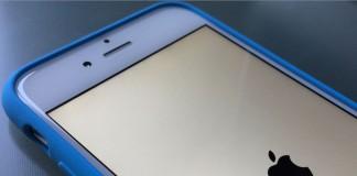 iphone bleue