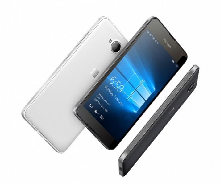 microsoft lumia 650 off