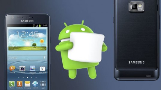 samsung galaxy s2 android marshmallow