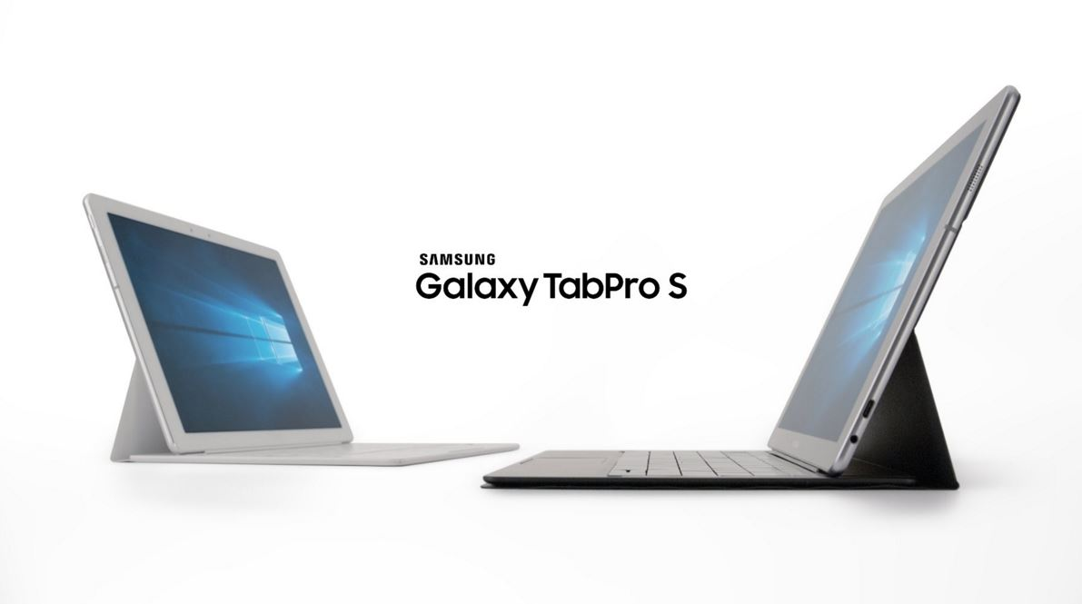 La Samsung Galaxy TabPro S , véritable mix entre la Microsoft Surface