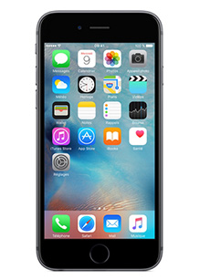 telephone Apple iPhone 6S gris sideral