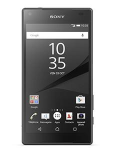 telephone Sony Xperia Z5 compact noir