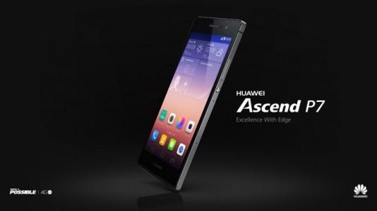 Test du Huawei Ascend P7
