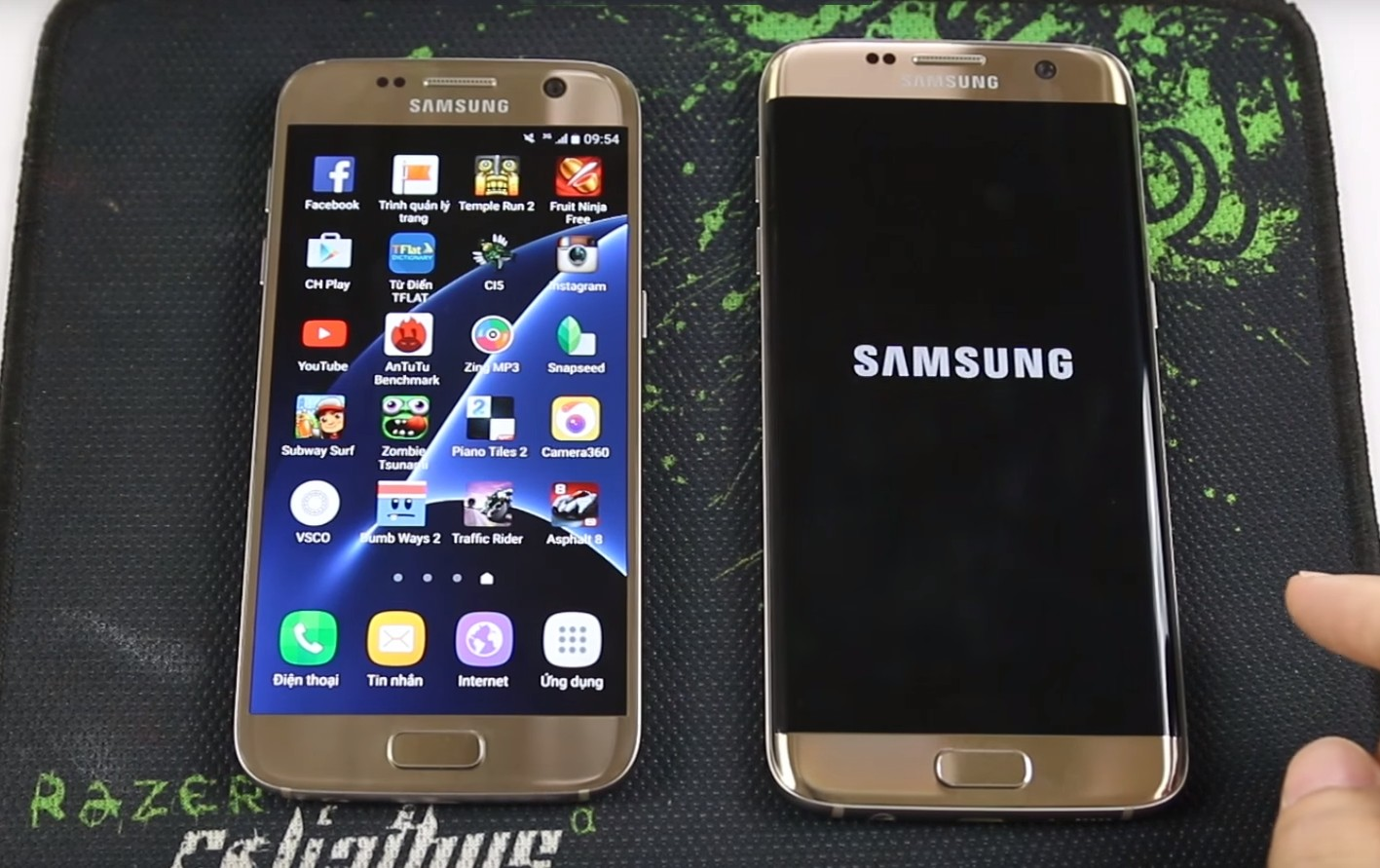 Samsung Galaxy S Ou Iphone