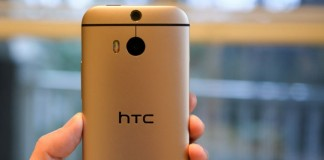 HTC One M9 couleur or