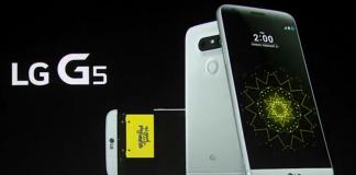 LG G5 précommandes