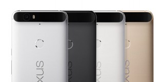 Nexus 6P couleurs