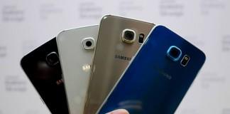 Samsung Galaxy S6 coloris