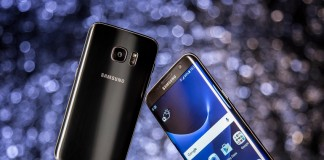 Samsung Galaxy S7 Edge bords incurvés