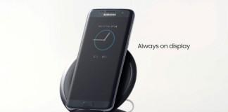 Samsung Galaxy S7 Edge mode always on