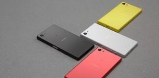 Sony Xperia Z5 coloris