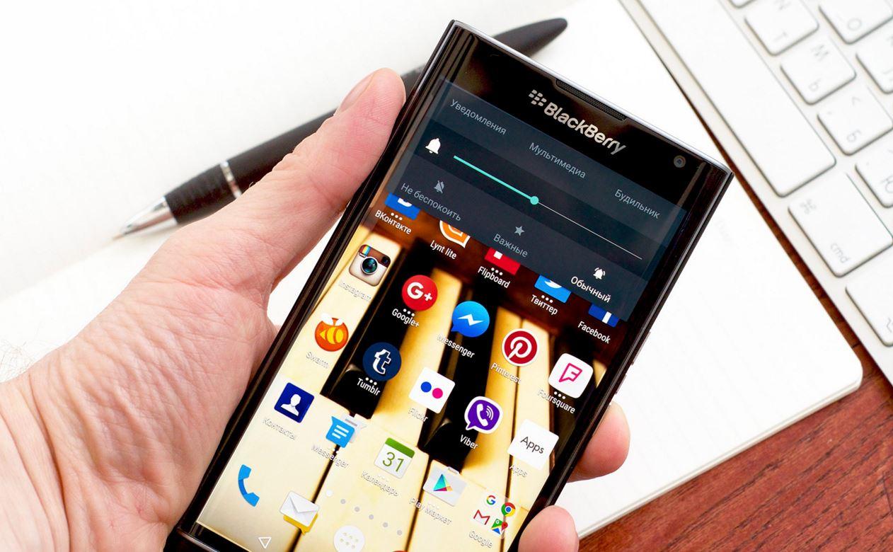 Le blackberry priv se met jour meilleur mobile for Photo ecran blackberry