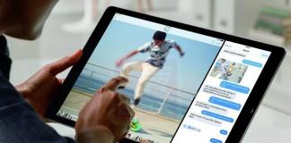 iPad Pro uitilisation multitâche