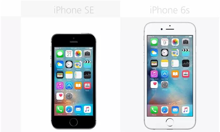Iphone se vs iphone 6s battery