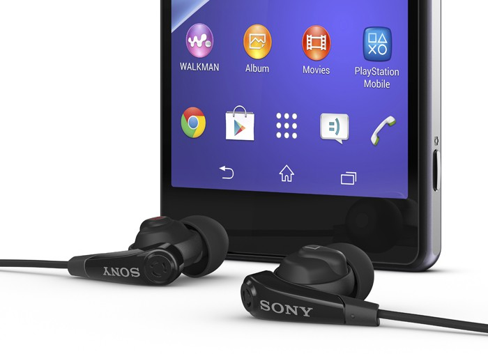 Test des oreillettes MDR-NC31EM du Sony Xperia Z2 ...
