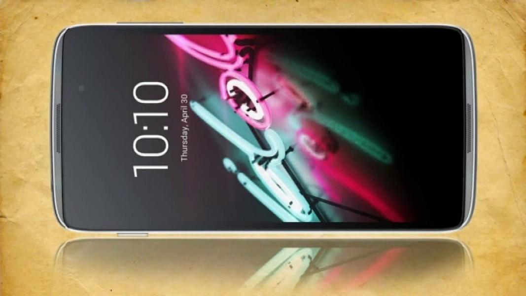 Alcatel One Touch Idol 3 fond blanc