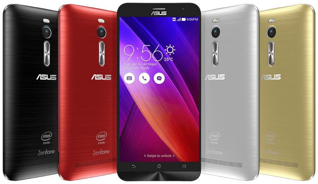 Asus Zenfone 2 coloris