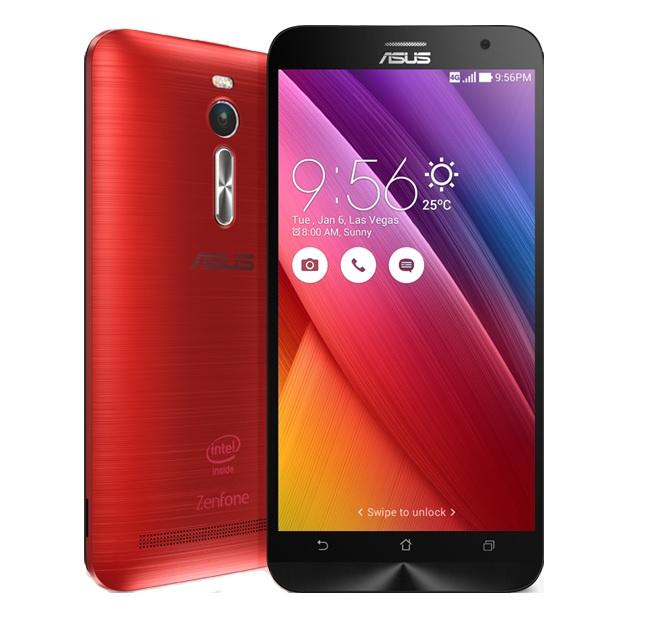 Asus zenfone 2 ZE551ML rouge