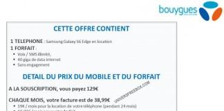 Bouygues Telecom location de smartphones