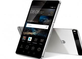 Huawei P9 fond blanc