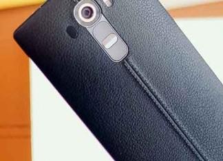 LG G4 en cuir noir