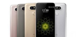 LG G5 déclinaison couleur
