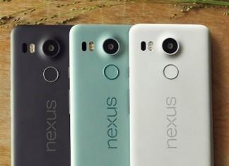 Les 3 couleurs du Nexus 5X