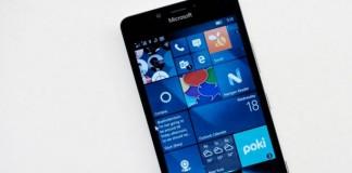Microsoft Lumia 650 Fond Gris