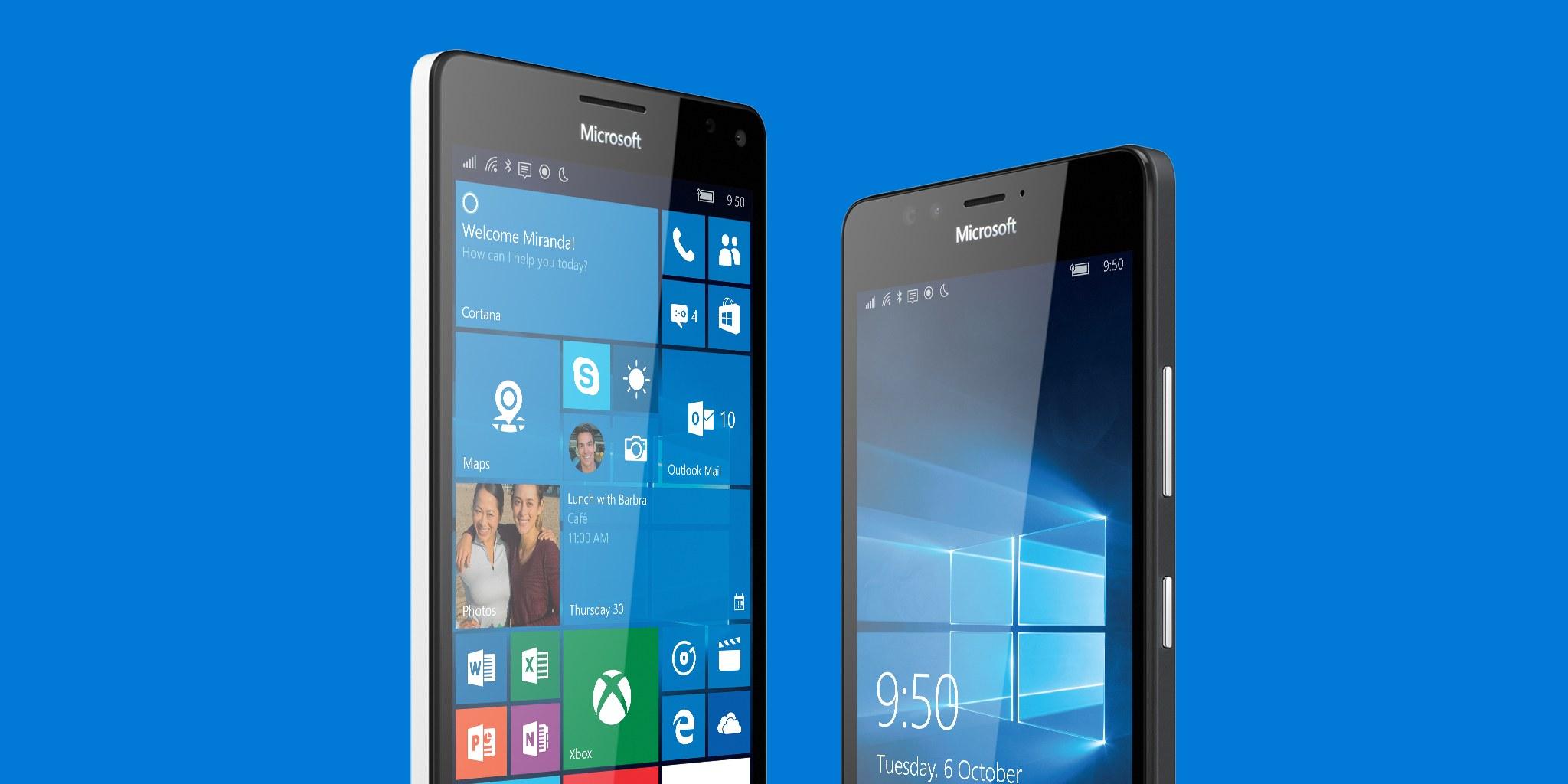 microsoft lumia 950 vs microsoft lumia 950 xl lequel choisir meilleur mobile. Black Bedroom Furniture Sets. Home Design Ideas