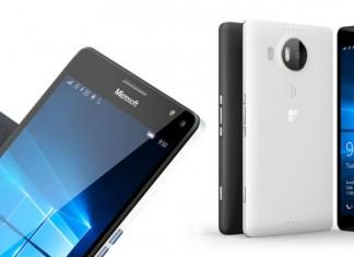 Microsoft Lumia 950 XL Noir et Blanc