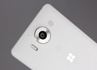 Microsoft lumia 950 en blanc
