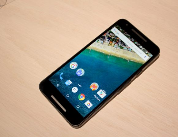 Nexus 5X fond beige