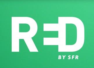 Red by SFR fond vert