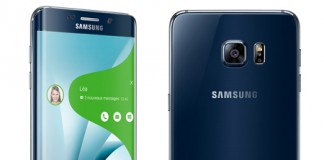 Samsung Galaxy S6 Edge Plus en noir