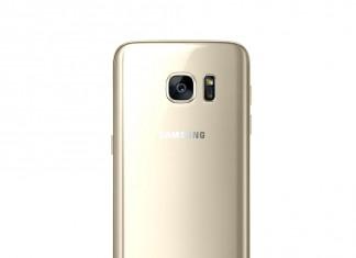 Samsung Galaxy S7 Edge fond blanc