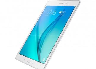 Samsung Galaxy Tab A Fond Blanc