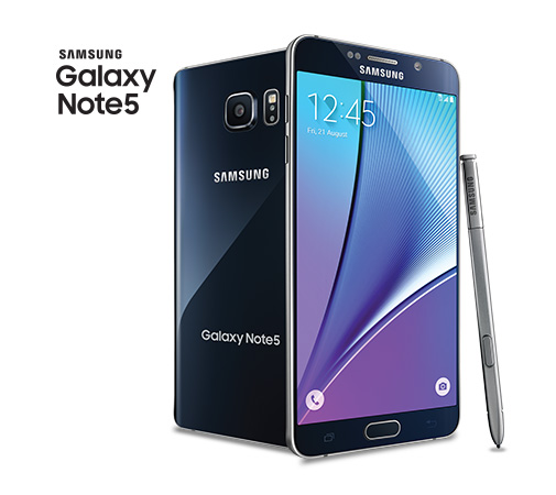 Samsung galaxy note 5 noir