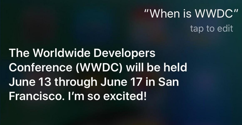 Siri annonce
