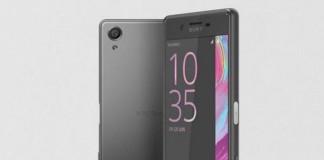 Sony Xperia X nouveau smartphone
