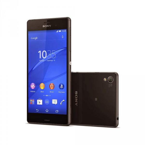 Sony Xperia Z3 fond blanc