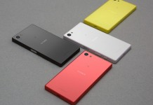 Sony Xperia Z5 Compact coloris