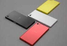 Sony Xperia Z5 Compact coloris