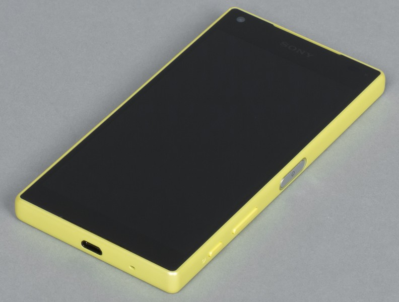Sony Xperia Z5 Compact jaune