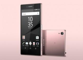 Sony Xperia Z5 Premium rose