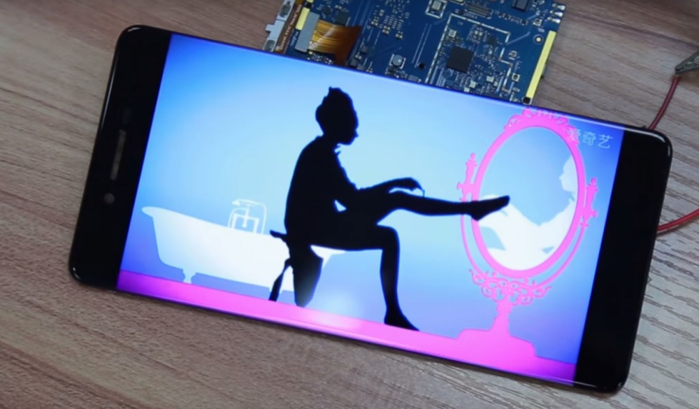 Ulefone future, le smartphone sans bordures